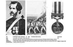 Blanche Clogstoun's father, Herbert Macworth Clogstoun V C Major.