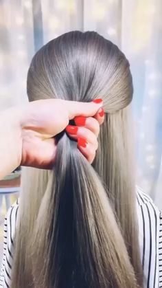 hairstyles for long hair videos Hairstyles Tutorials Compilation 2019 Part 78 short hair styles for girls - Hair Style Girl Step By Step Hairstyles, Easy Hairstyles For Long Hair, Cute Hairstyles, Braided Hairstyles, Wedding Hairstyles, Hairstyles Videos, Beautiful Hairstyles, Party Hairstyles, Beach Hairstyles