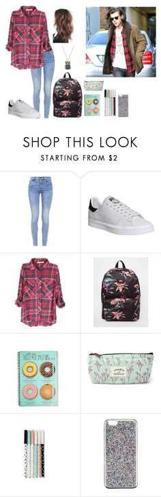 """""""BACK TO SCHOOL WITH HARRY"""" by one-direction-hazstyles ❤ liked on Polyvore featuring G-Star, adidas, Vans and J.Crew"""