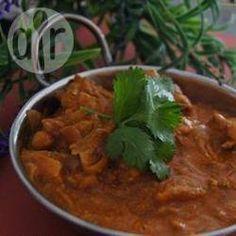 """Indisches Butterhähnchen aus dem Slow Cooker. Ein """"muss"""" für jeden der indisches Essen mag."""