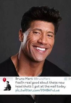 Dwayne Jonson Shows Excitement Over New Baby Girl. Dwayne Jonson, Bruno Mars Quotes, New Baby Girls, Music Tv, The Rock, New Baby Products, Entertaining, Humor, Men