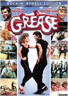 Grease *Musical/Romance by Randal Kleiser -- starring John Travolta & Olivia Newton-John See Movie, Movie List, Movie Tv, Movie Photo, Film Musical, Film Music Books, Grease Musical, Musical Theatre, Old Movies