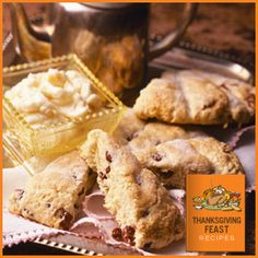 Talk about delicious! Try this yummy Cranberry Orange Scones recipe from the Land O'Lakes® Thanksgiving Feast Recipes online cookbook on Walmart.com.