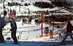 Cannonsburg Ski Area - 1970s...skiing on winter nights for a few hours