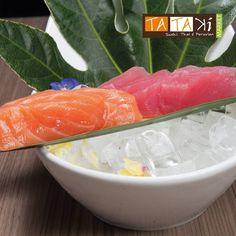 El sashimi es un plato japonés de origen coreano que consiste principalmente en mariscos o pescado crudos cortados. Ven a probarlo. #TatakiMarket #food #drink #sushi #cócteles #experienciatatakimarket #sabores #sushi #tataki #fusion #panama #pty #ptyfood #sashimi #felizlunes by tatakipty
