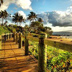 Ulua Beach in Wailea, HI