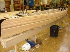 Cedar Strip Canoe Construction