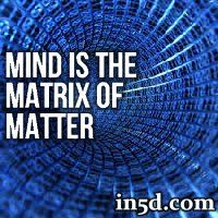 If each and every one of us suddenly decided to believe in and support a different matrix when we woke up tomorrow, the world would change overnight.