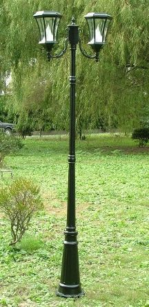 Beautifully designed this gas lamp style Victorian solar lamp post light with 2 solar lights will add an elegant appeal to your home and landscape. http://www.mysolarshop.com/victorian-solar-lamp-post-light-double-gs94d