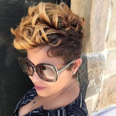 You will be surprised, but short haircuts and hairstyles for black women are not limited to just few options. We have 60 cute ideas for you and your perfect locks. Check these short black hairstyles and get inspired! Cute Hairstyles For Short Hair, Straight Hairstyles, Curly Hair Styles, Natural Hair Styles, Beautiful Hairstyles, Trendy Hairstyles, Glamorous Hairstyles, Black Women Hairstyles, Girl Hairstyles