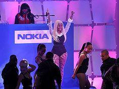 So Nicki Minaj stopped by Times Square on Friday...