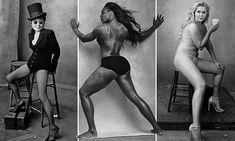 EXCLUSIVE CALENDAR: Serena Williams, Patti Smith and Amy Schumer strip off for Pirelli