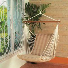Hangit Soft Multi-color Hammock swings for home indoor in wood & fabric (Tan) Hangit http://www.amazon.in/dp/B00VQF7IAI/ref=cm_sw_r_pi_dp_wE0Svb093X15Z