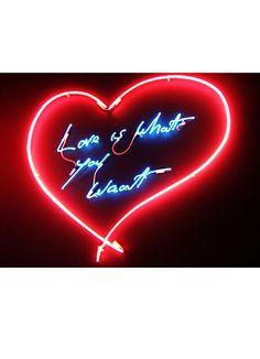Tracey Emin heart