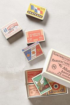 Annees Folles Matchbox Set - anthropologie.com