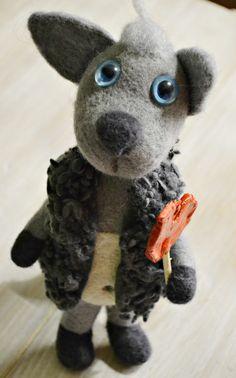 wolf toy