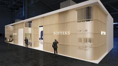 exhibition booth on Behance Exhibition Booth, Booth Design, Trade Show, Behance, Architecture, Outdoor Decor, Inspiration, Home Decor, Museums