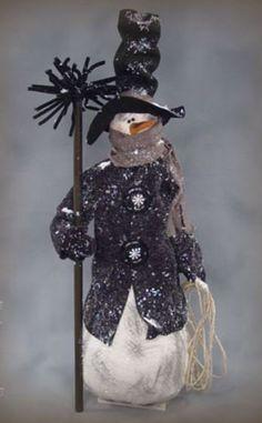 Whimsical Snowman PATTERN - Chadwick - SNS