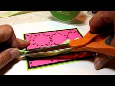 Summer Ribbon Candy Card