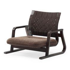 おおらか座 ブラウン 47250yen 和室にも洋室にも!立ち上がりの動作もラクチンな低座椅子
