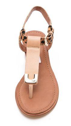 Dion Demi Wedge Sandals