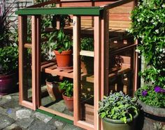 Growhouse Upright Cold Frame