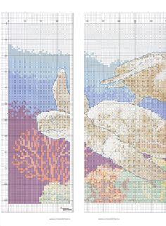 Gallery.ru / Фото #58 - В к 2(64) 10 - logopedd Tropical Fish, Beach Themes, Cross Stitch Patterns, Diagram, Blog, Crafts, Turtles, Ocean, Decorations