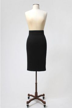 The Black Pencil Skirt by BANNOU