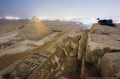 The Unbelievable Photos Taken by the Crazy Russians Who Illegally Climbed Egypt's Great Pyramid