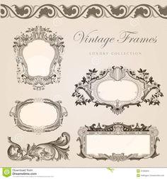 Vintage Invitations Template
