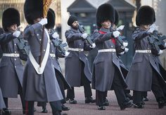 Scots Guards Soldier Soldier Wearing Sikh Turban on Parade by Defence Images, via Flickr