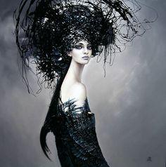 Artist Karol Bak.