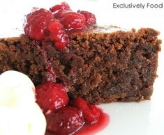 Flourless chocolate cake- if you use Stevia instead of sugar, it should come out to 1 carb serve per slice. Win!