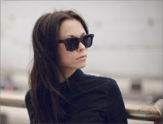 WEAR: Wenge wood sunglasses designed and handmade by Moscow's Woodsun.