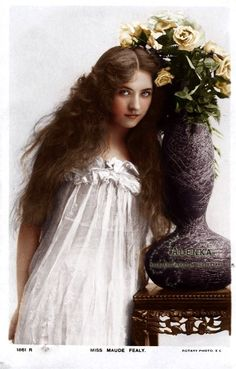 Miss Maude Fealy  (1883-1971), appeared in nearly every film made by Cecil B. DeMille