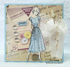 Dimestore Vogue Card - Vintage Street Market - DT Call