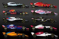 Motorsport.com vous présente les enjeux de la saison 2018 de Formule 1. Formula 1 Car, Love Dance, Motosport, Ferrari F1, F1 Racing, Indy Cars, Courses, Exotic Cars, Ayrton Senna