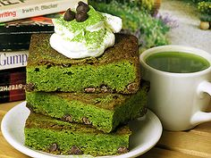 "has many health benefits, but you don't have to only drink it, you can make food too! Check these out - Yerba Mate Tea Gourd ""Greenies"" (Brownies) Superfood, Tea Recipes, Dessert Recipes, Yerba Mate Tea, Brownies, Brownie Bar, Vegan Cake, Healthy Baking, Just Desserts"