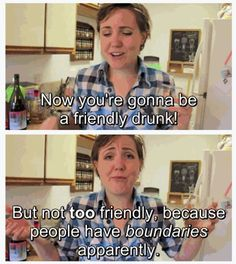 Hannah Hart, oh the laughs. @Wesley Piper Casteel this is out drunk kitchen inspiration