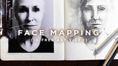 A Brand New Free Art Video with Pam Carriker | Face Mapping This is atwo part video(yes, both are included!) What better way to practice drawing and painting faces than by using the face you see reflecting back from you every day. By using your photo as a reference for mapping details, shading and highlights, a bit of you will shine through each drawing, even if you aren't going for an exact image likeness. #pamcarriker #jeanneoliver #learntodraw #bestonlineartclasses Online Art School, Online Art Classes, Create Art Online, Face Mapping, Art Courses, Drawing Practice, Never Too Late, Community Art, Drawing People