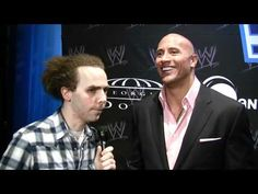 The Rock with Sam Roberts on John Cena, and The Miz stealing his gimmick