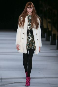 Saint Laurent Fall 2014 Ready-to-Wear Collection #PFW