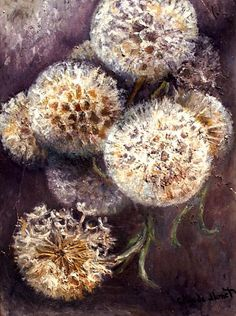 ArtPropelled | wasbella102: Claude Monet: Dandelions