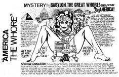 The Bizarre and Terrifying Propaganda Art of the Children of God - VICE Pictures Of America, God Pictures, The Family International, Babylon The Great, Propaganda Art, Jesus Stories, Bible Truth, History Facts, Religious Art
