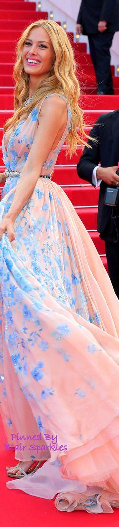 CANNES 2015 Red Carpet Petra Nemcova in Zuhair Murad  | ♕♚εїз BLAIR SPARKLES