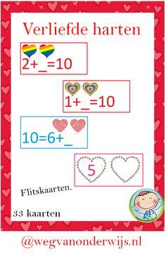 Flitskaarten verliefde harten