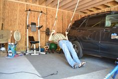INSTRUCTABLES:  Picture of Adjustable TRX-style Suspension Work Out System - Less than $20