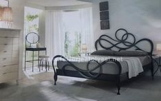 10 Farklı Ferforje Yatak ile Dekorasyon Fikirleri - Ev Dekorasyon Fikirleri