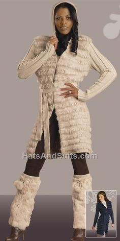 DONNA by Donna Vinci 14040 Knit Coat