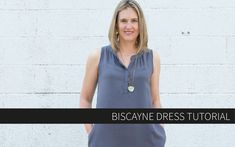 TIP: French Seams with Pockets!  Biscayne Dress Tutorial